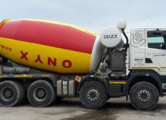 Scania domiešavač 12m3
